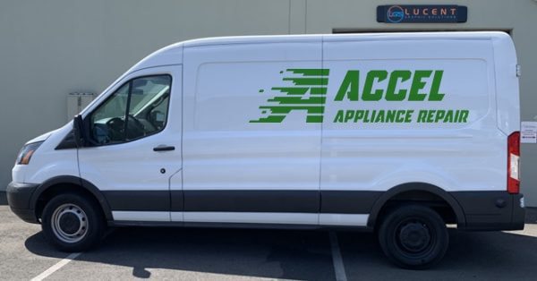 accel appliance repair van